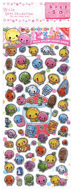 Q lia colorful drops stickers flickr photo