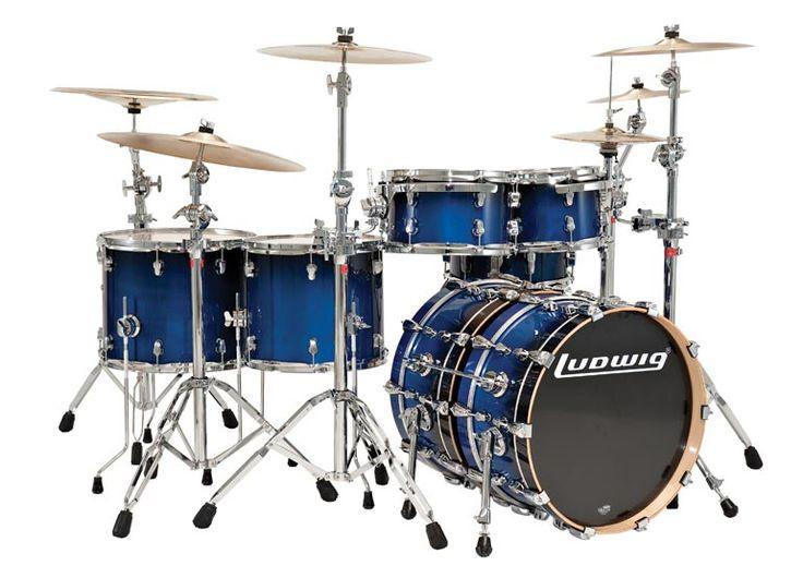 Ludwig Drum Set Wallpaper | Epic Modular Kit | Cool Drum ...