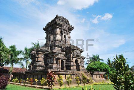 Java, Malang - Singosari Temple Malang East Java Indonesia a Hindu Temple Built In 1292 To Memorized The Last King  Stock Photo