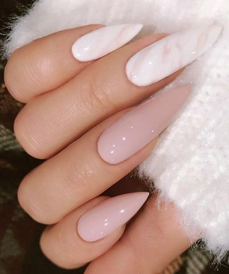 70+ cool and creative stiletto nail art designs; Stiletto