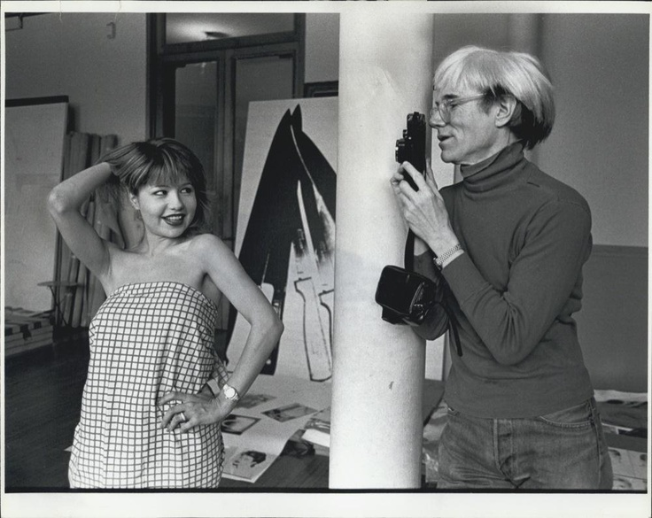 Andy Warhol Photographs Pia Zadora, New York Studio Loft