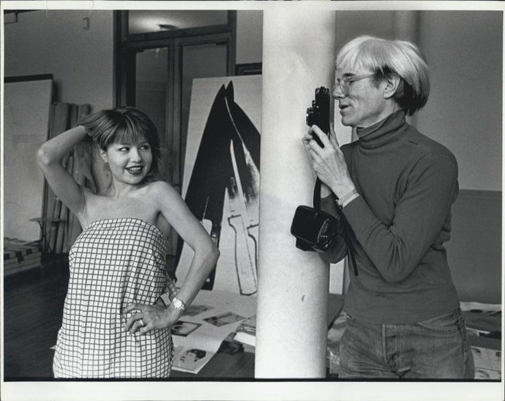 Andy Warhol Photographs Pia Zadora in New York Studio Loft