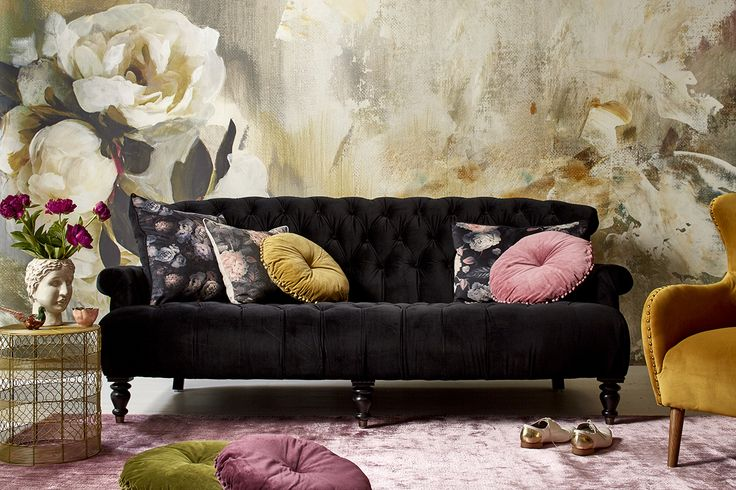 There's nothing like layers of velvet to create a sense of luxury in a living space. To welcome in Spring, add a touch of blush pink with your throw pillows and floor coverings! Right now you can pick up an Ariane 3 seater sofa for $1,999 (save $500) AND get 25% off any rug in the brand new Early Settler rug collection. Shop the catalogue now!