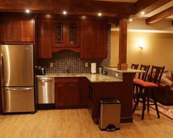 Basement Kitchenette With Bar: Basement Basement Bar, Basement Remodel Design, Pictures