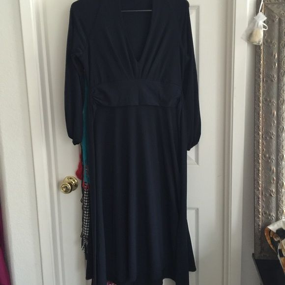 MODA Victoria Secret Small navy dress Beautiful dress! Sorry my pictures are not that great. Great condition. Small. I will ship ASAP! Thank you ❤️ Moda International Dresses