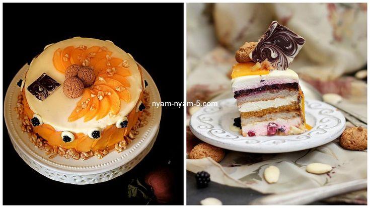 Фантастичний торт з медовим мусом : Ням ням за 5 хвилин