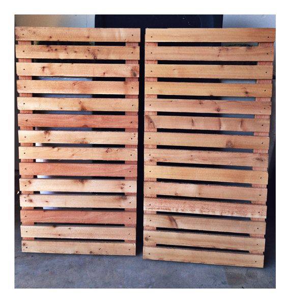 Modern Wood Slat House Shutters By Sunscoutfurniture On Etsy