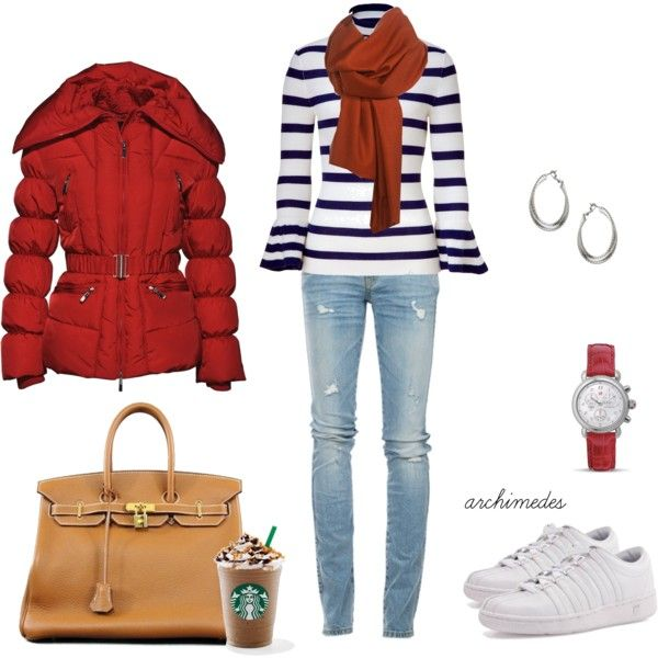 Winter Semester, created by archimedes16 on Polyvore (I know it will never get cold enough here for me to wear this but it is still too cute not to pin)