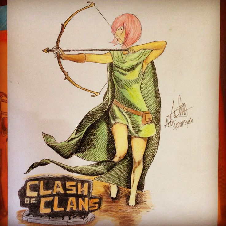 Archer | Clash Of Clans