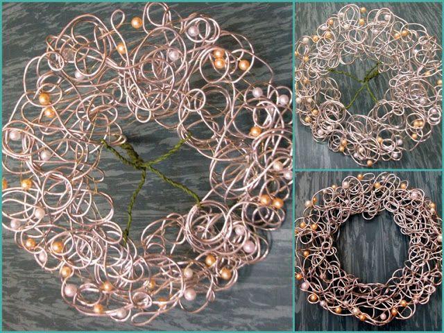 Kryza z drutu aluminiowego
