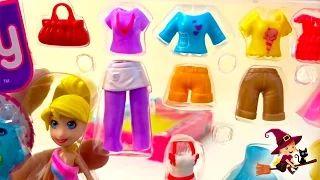 Juegos de Vestir Maletín de Moda de Polly Pocket - YouTube