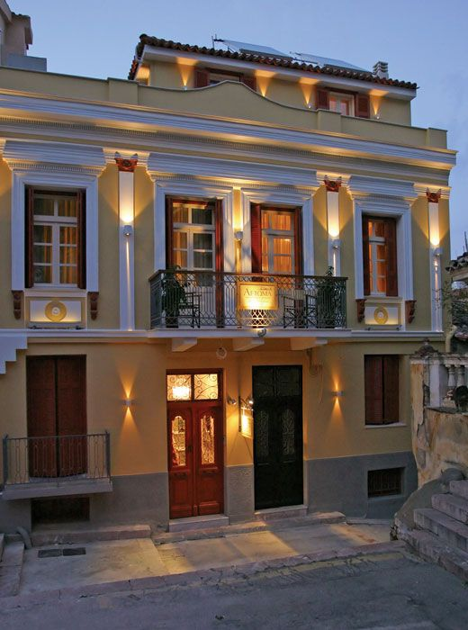 Aetoma Pension in the old town of Nafplio, Greece - OUR HOTEL - LOVED IT! - PXE