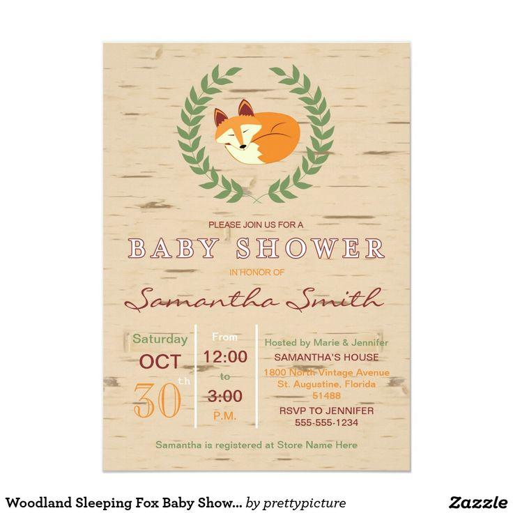 140 best Woodland Animals Baby Shower Theme images on Pinterest ...