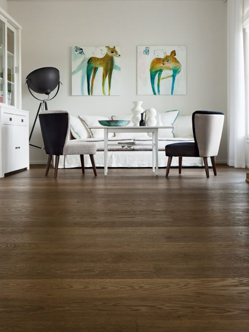 #Parquet #TIMBERWISE Oak HW Choco50 #Decor #Interiordesign #Home #Mataro #Barcelona www.decorgreen.es