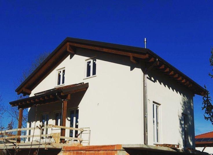 Sopralzo in legno a Niella Tanaro (Cuneo) realizzato da Novellocase