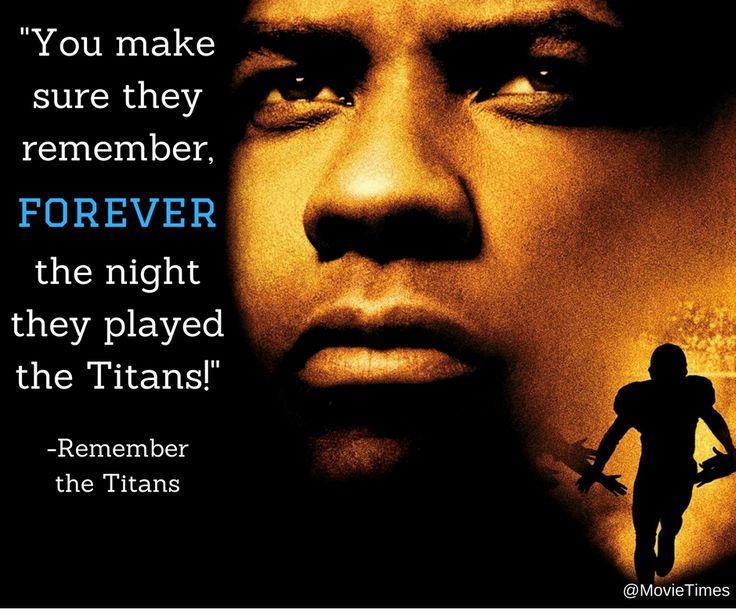 essay movie remember titans Essay remember the titans remember the titans fact vs fiction.