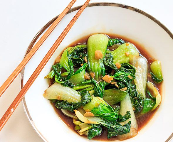 Stir Fried Asian Greens Bok Choy Pak Choy And Chinese