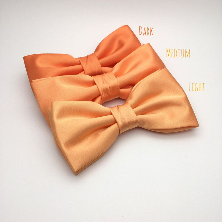 10 best coralorangewatermelonpeach bow tie images on