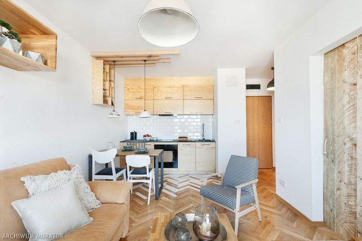 Małe mieszkania: tania i oryginalna aranżacja