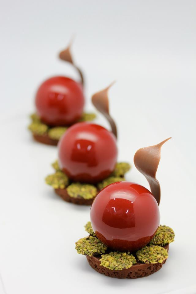 Art de la table : Gâteau au chocolat
