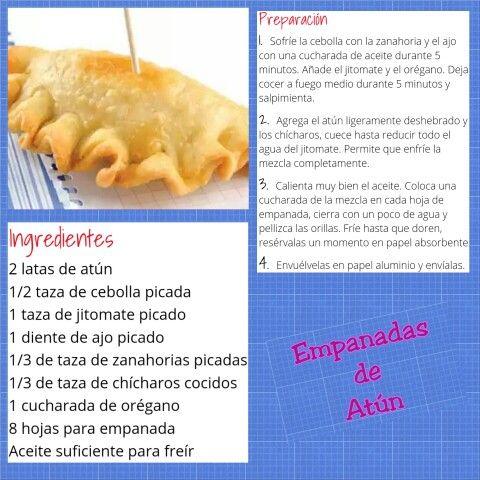 Empanadillas de Atún (8 porciones)
