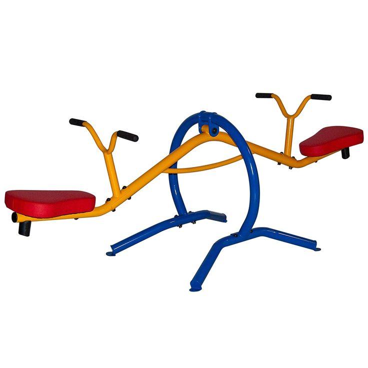 Gym dandy teetertotter home seesaw playground set tt210