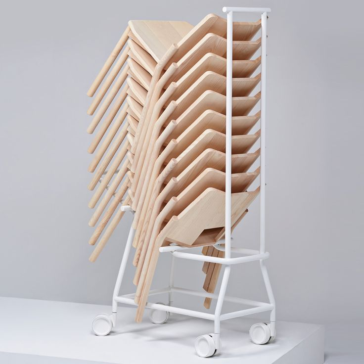 "Industrial Facility has designed a solid wood ""chair for church"" for Italian furniture brand Mattiazzi"