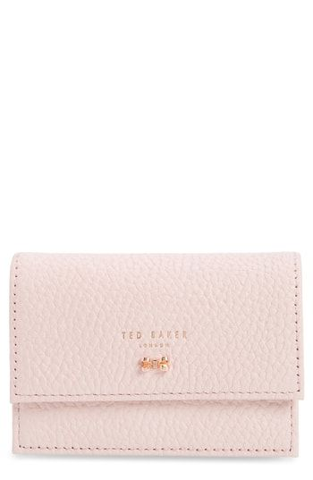 sale retailer c6522 e7dcb Ted Baker London Eves Accordion Leather Card Case | Womens Wallet ...