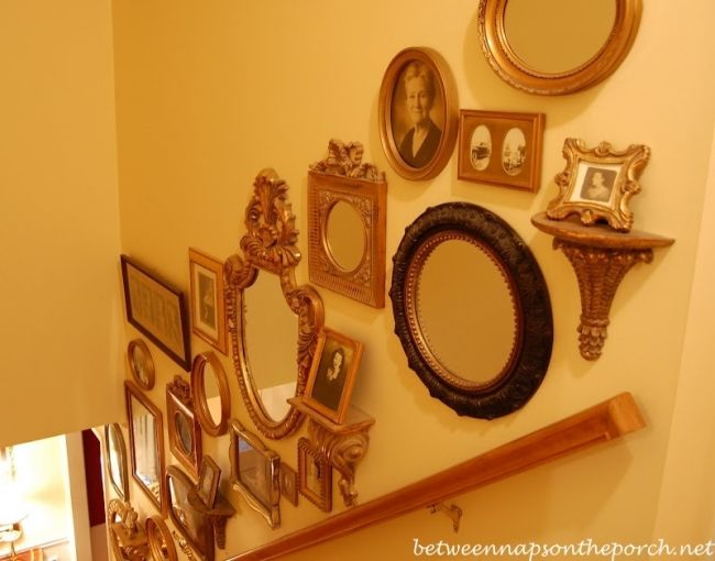 Mirror Sconces Wall Decor: Best 25+ Decorating Staircase Ideas On Pinterest