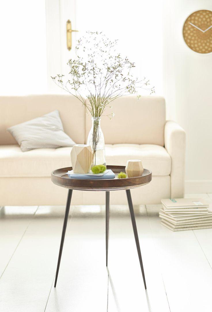 Home Affaire Beistelltisch In Schönem Materialmix
