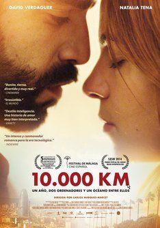 Cartelera de cine Tráiler de 10.000 Km. Información, sinópsis y ficha técnica de la película #cine #estrenos