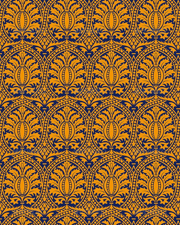 Classic Seamless Pattern Yellow #GraphicRiver Classic seamless patter yellow in editable vector file Created: 15May13 GraphicsFilesIncluded: VectorEPS Layered: No MinimumAdobeCSVersion: CS Tags: abstract #antique #background #baroque #blue #classic #damask #decorative #elegant #fabric #floral #illustration #motif #nature #old #ornament #ornate #pattern #repeat #retro #seamless #swirls #textile #texture #tile #vector #vintage #wallpaper #yellow