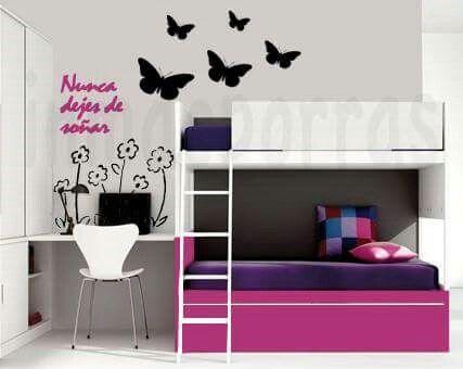 Dormitorios  para chicas soñadoras en esta vuelta a clase
