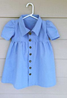 Classic Girl's Dress with a Collar: Free Pattern + Tutorial   Sew Mama Sew   Outstanding sewing, quilting, and needlework tutorials since 2005.
