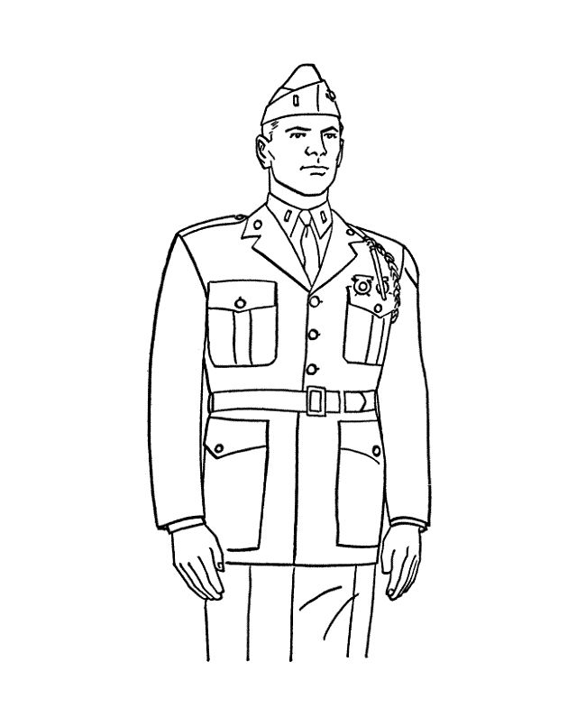 Army Coloring Pages