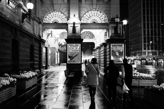 Town Hall Night - Swanston Street, Melbourne - Nathan Kaso