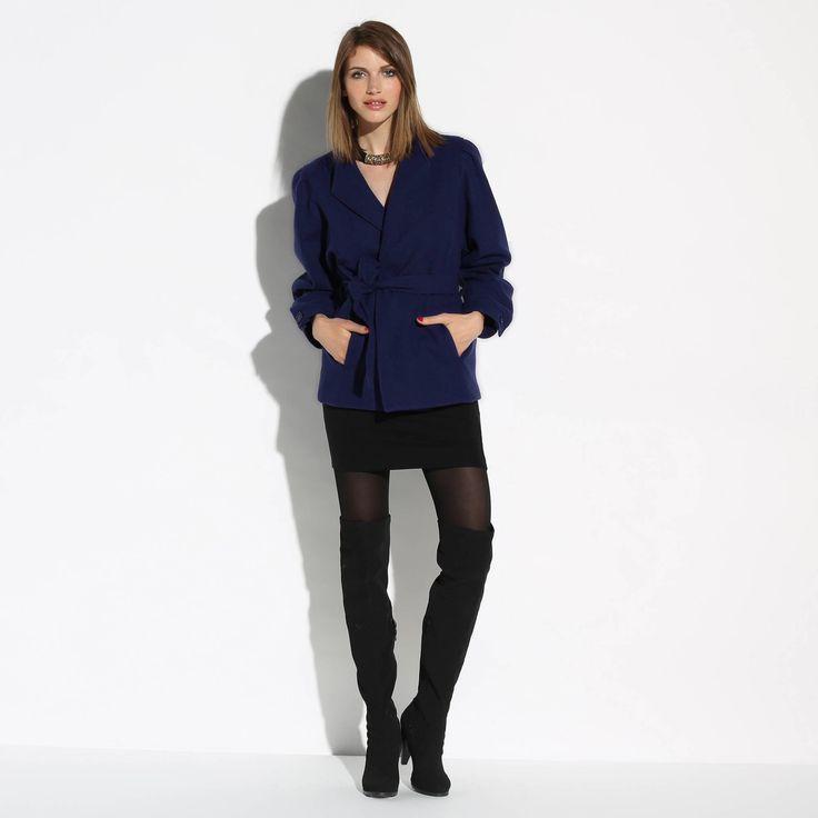Manteau drap de laine femme - 3 Suisses