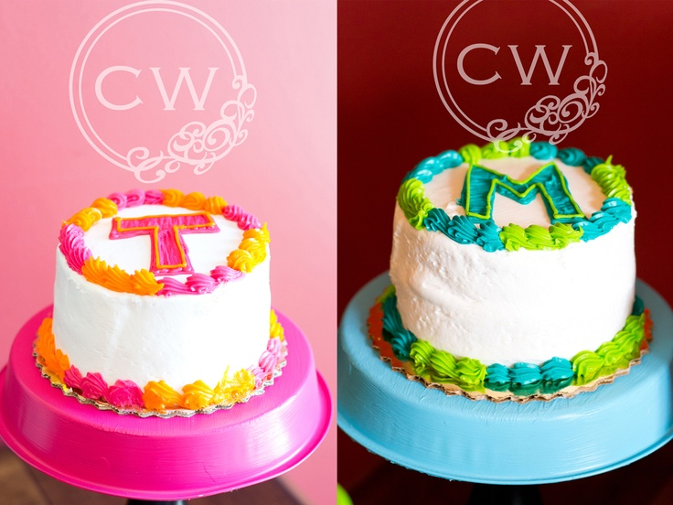 Best Twins Birthday Images On Pinterest Twin First Birthday - Small first birthday cakes