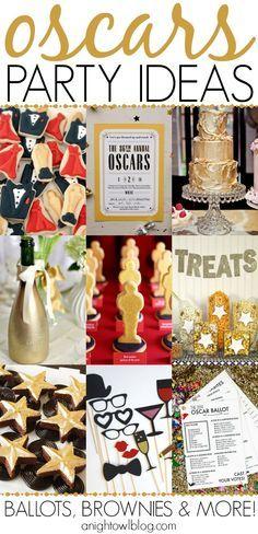 So many great Oscar party ideas!