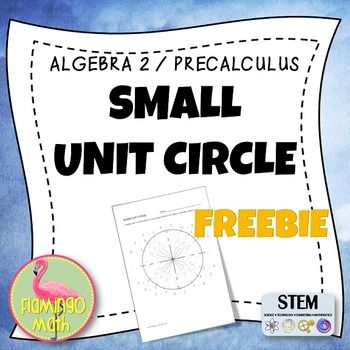 "PreCalculus, Trigonometry, College Algebra: Free Unit CircleThis free item has two blank unit circles on a single 8.5"" by 11"" sheet of paper. Copy and cut in half to give students a chance to practice radian measure, degree measure, and the ordered pairs for each angle in one revolution.You may also be interested in:Trigonometric Graphs Stations ActivityTrigonometric Functions RelayTrigonometric Functions With QR CodesTrigonometry Graphing Match-Up ActivityBe the first to hear about my new…"