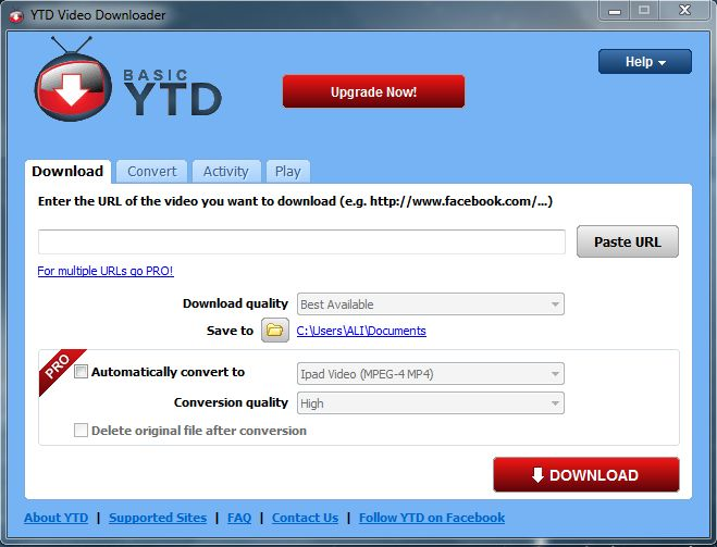 Best YouTube Downloader YTD Video Downloader allows you to download videos including HD and