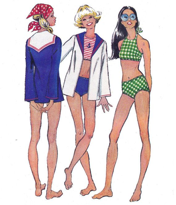 Amazoncom: Vintage Swimsuit Patterns