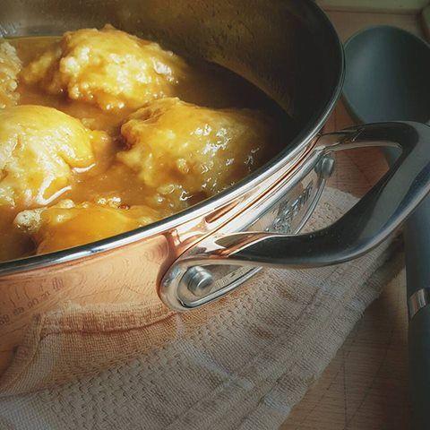 Butterscotch Dumplings