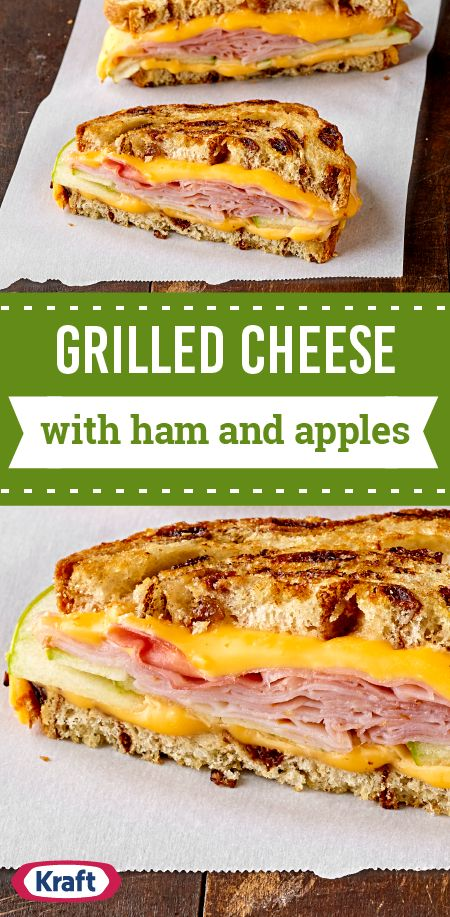 Grilled Cheese with Ham and Apples – Enhance a classic by making this recipe for a flavorful sandwich idea. Kids and adults both enjoy this tasty grilled cheese with ham sandwich—and you'll really enjoy that it's ready in just 10 minutes.