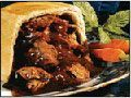 Microwave steak-and-kidney-pudding