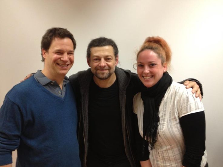 Meeting Andy Serkis. One of the most inspirational masterclass I've ever been to.