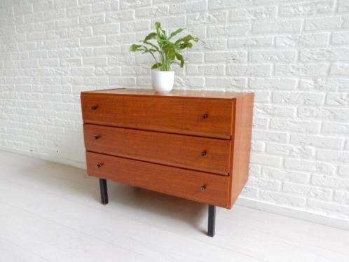 Jaren 60 Kast : ≥ retro vintage kast dressoir tv meubel ladekast jaren