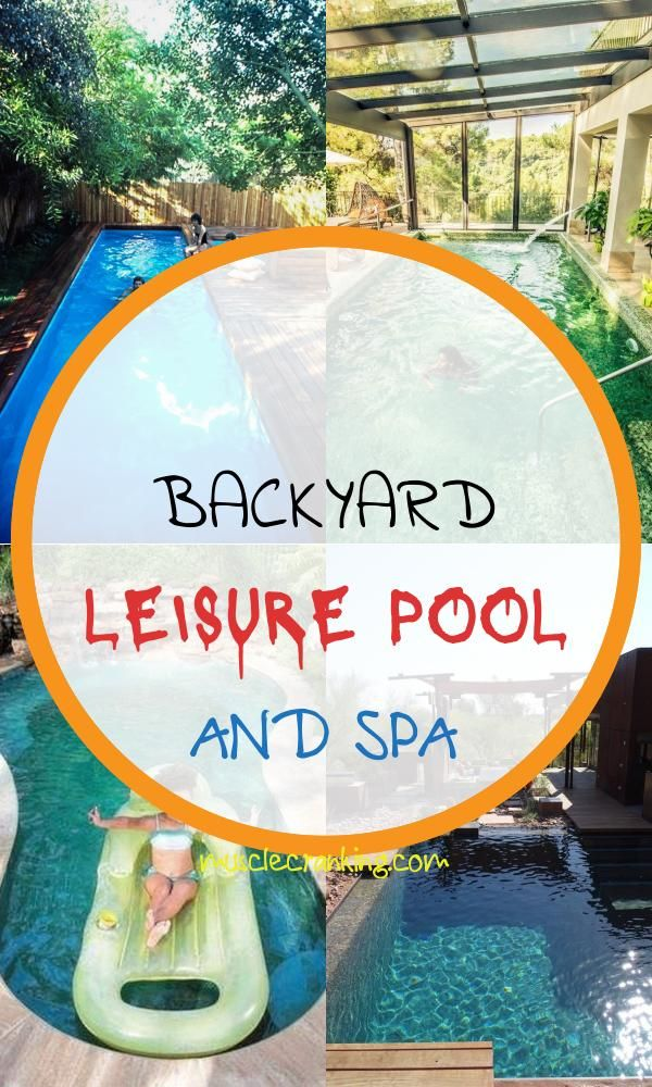 Backyard Leisure Pool and Spa 2021 Prior to you struck off ...