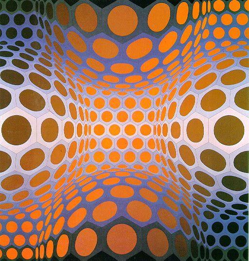 Victor Vasarely - Pillango
