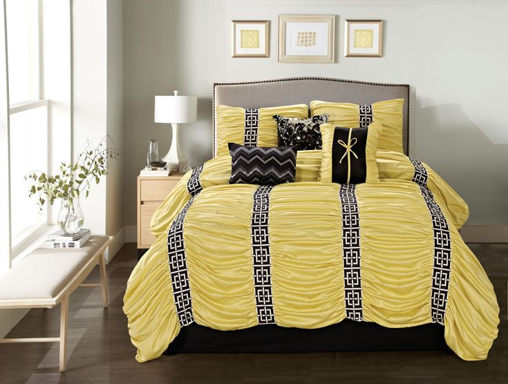 1000+ Ideas About Black Comforter Sets On Pinterest